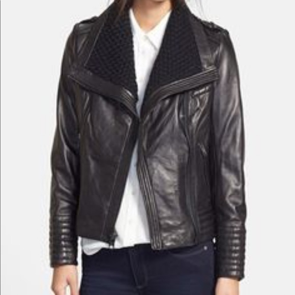 Michael Kors Jackets & Blazers - Michael Kors Leather Jacket